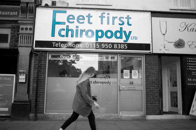 Chiropody in Nottingham